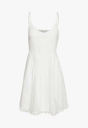 ONLHELENA SHORT DRESS  - Kjole - cloud dancer