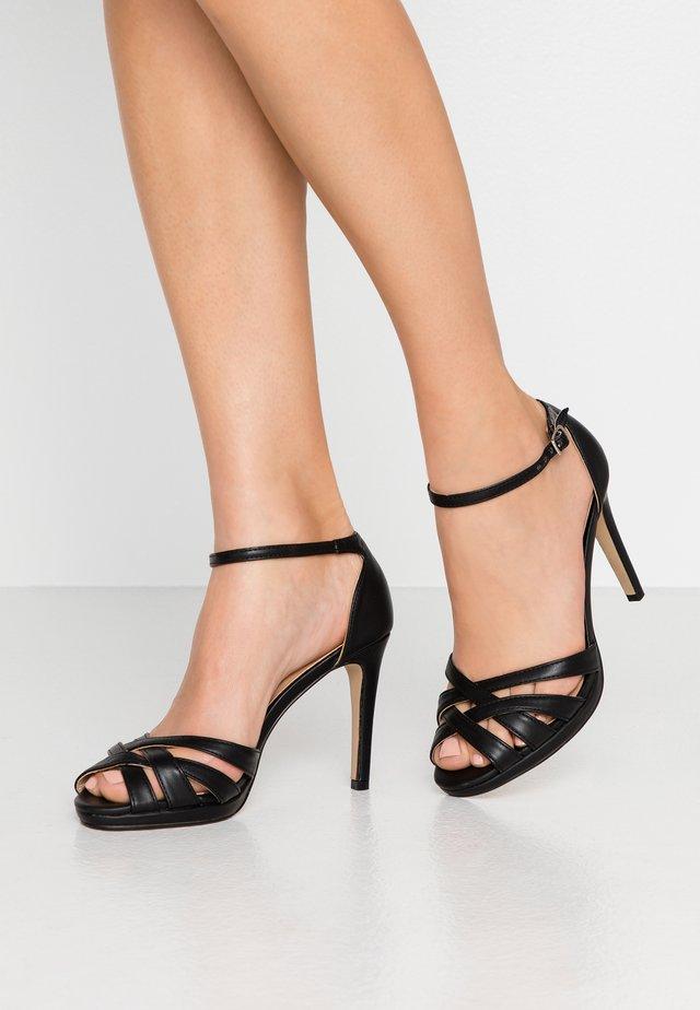 CACY - Sandály na vysokém podpatku - black