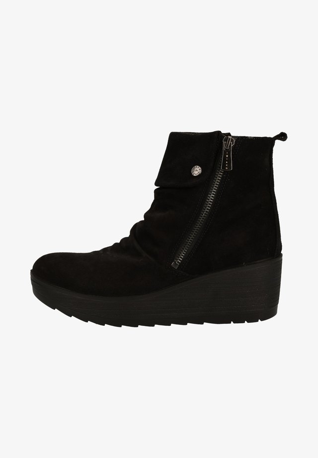 Bottines compensées - black