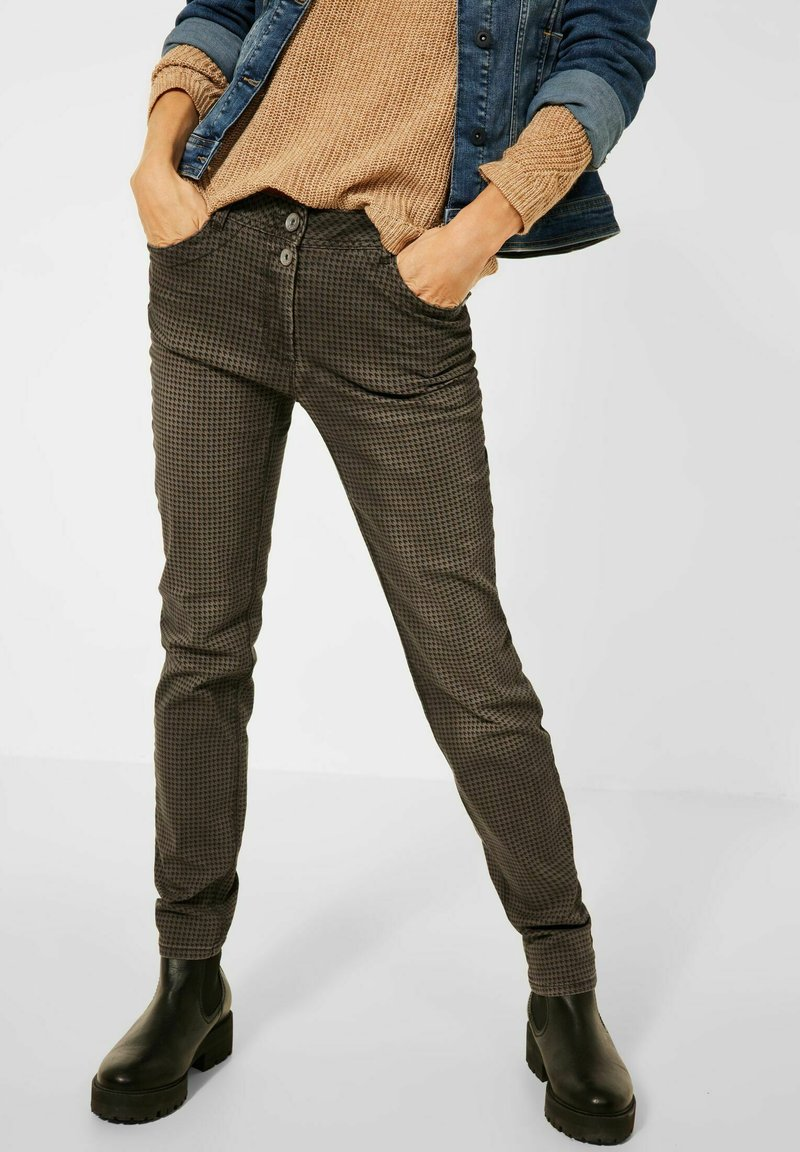 Cecil - CASUAL FIT - Trousers - braun