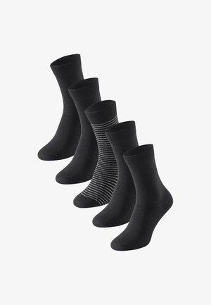 5-PACK  - Socks - black