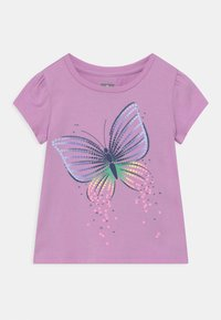 GAP - TODDLER GIRL  - Print T-shirt - purple - 0