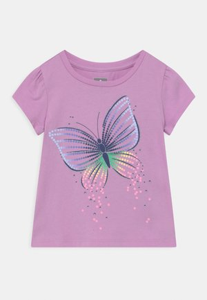 TODDLER GIRL  - T-Shirt print - purple