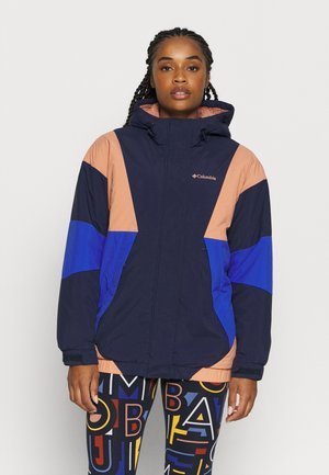 EUROCARVEJACKET - Outdoor jacket - nova pink/lapis blue/dark nocturnal