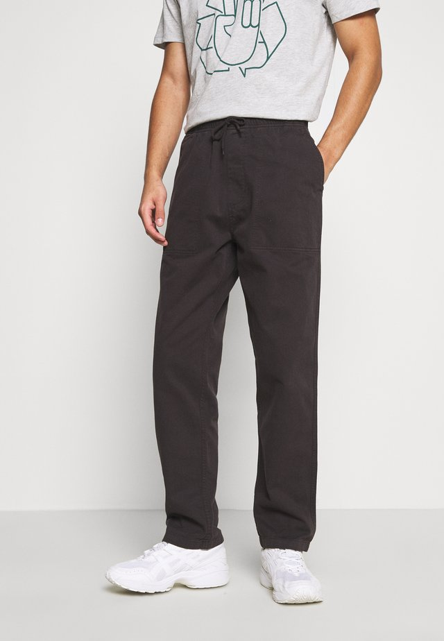 CANKTON - Trousers - black