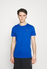 Hollister Co. - 7 Pack - T-shirt basique - white/soft red/orange/yellow/turquise/blue - 5