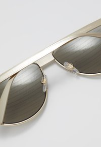 Versace - Sunglasses - gold-coloured/brown - 5