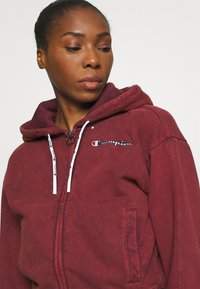 Champion - HOODED FULL ZIP - Zip-up hoodie - pink - 5