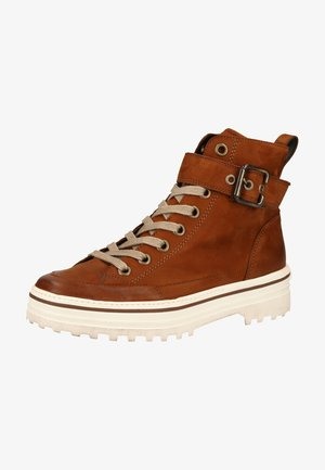 Ankle boots - cognac-braun