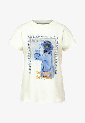 MIT FOTO-PRINT - Print T-shirt - weiß