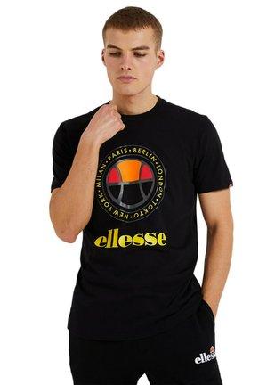 CAMPA - T-shirt print - black