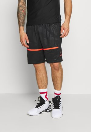JUMPMAN CAMO SHORT - Träningsshorts - black/infrared