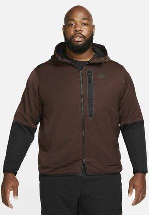 WINTER - Outdoorjacka - brown basalt/black/black