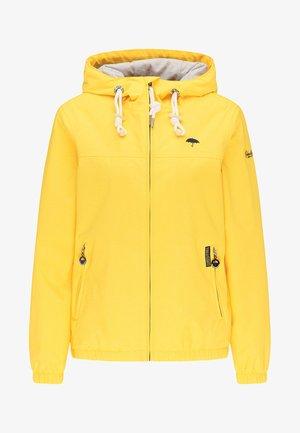 Vodotěsná bunda - yellow