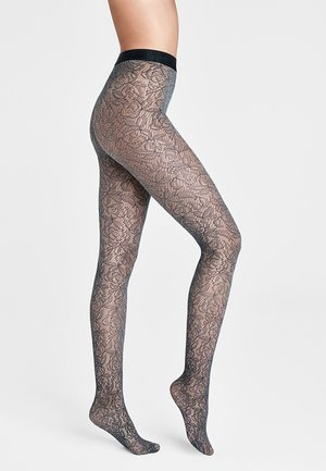 REESE - Tights - black/ash
