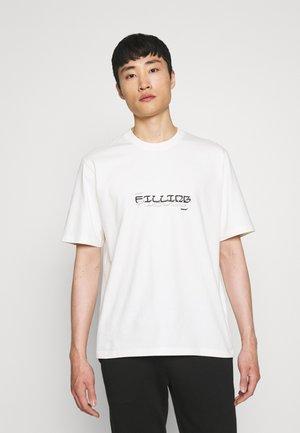 TEE GARDEN UNISEX - T-shirt z nadrukiem - off white