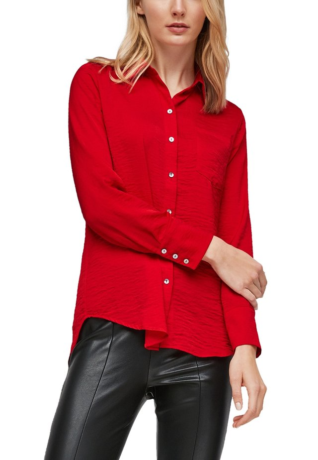 LANGARM - Overhemdblouse - red