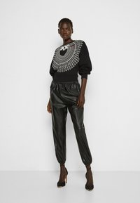Pinko - ADA  COTONE ORGANICO - Sweater - black - 1