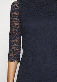 Esprit Collection - LEAVE STRETCH - Sukienka koktajlowa - navy - 5