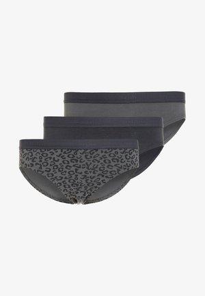 3 PACK - Kalhotky - grey