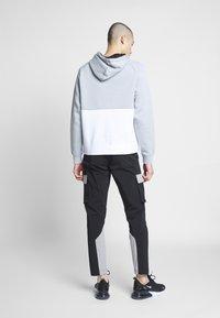 Nike Sportswear - AIR HOODIE - Huppari - smoke grey/black/white - 2