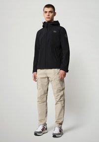 Napapijri - SHELTER HOOD - Light jacket - black - 1