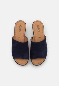 Gabor - Heeled mules - bluette - 5