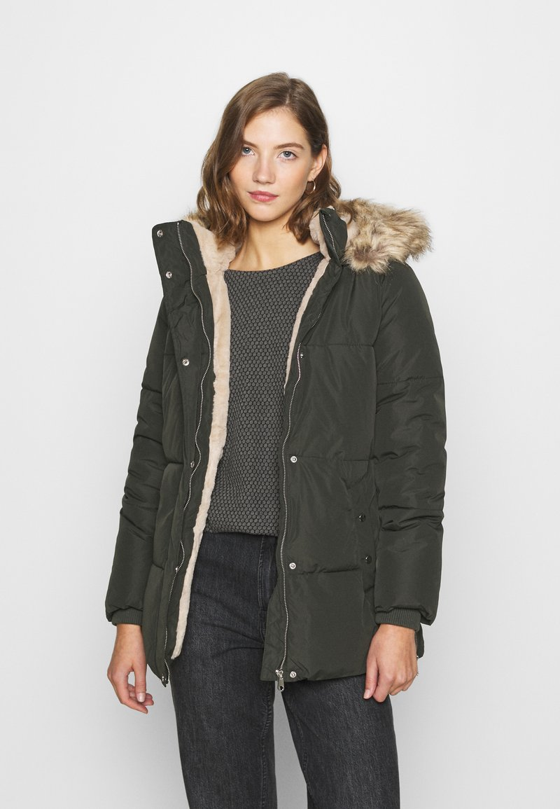 Vero Moda - VMFINLEY JACKET - Zimní kabát - peat