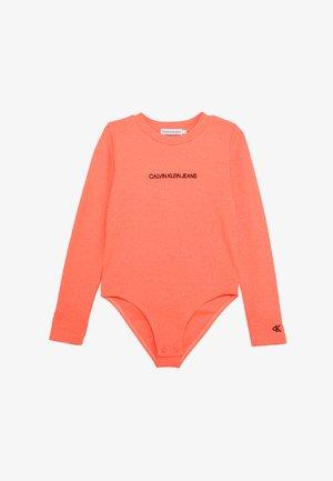 LOGO BODY - Long sleeved top - pink
