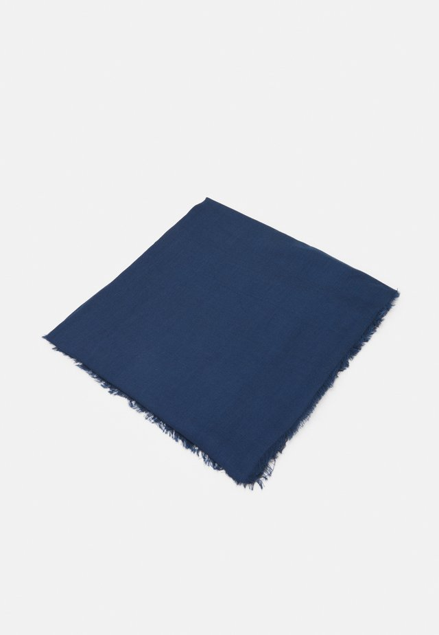 SEASONAL SOLID - Halsdoek - navy blue