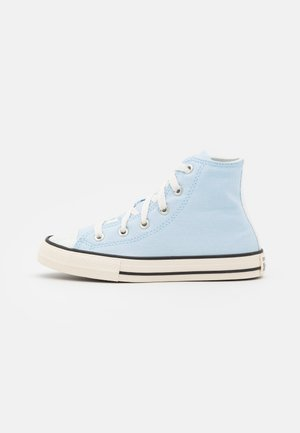 CHUCK TAYLOR ALL STAR UV GLITTER UNISEX - Korkeavartiset tennarit - chambray blue/egret/black