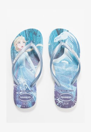 KIDS SLIM FIT FROZEN ELSA & ANNA - Sandali da bagno - white