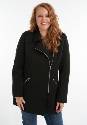IN BIKERMODEL - Short coat - black