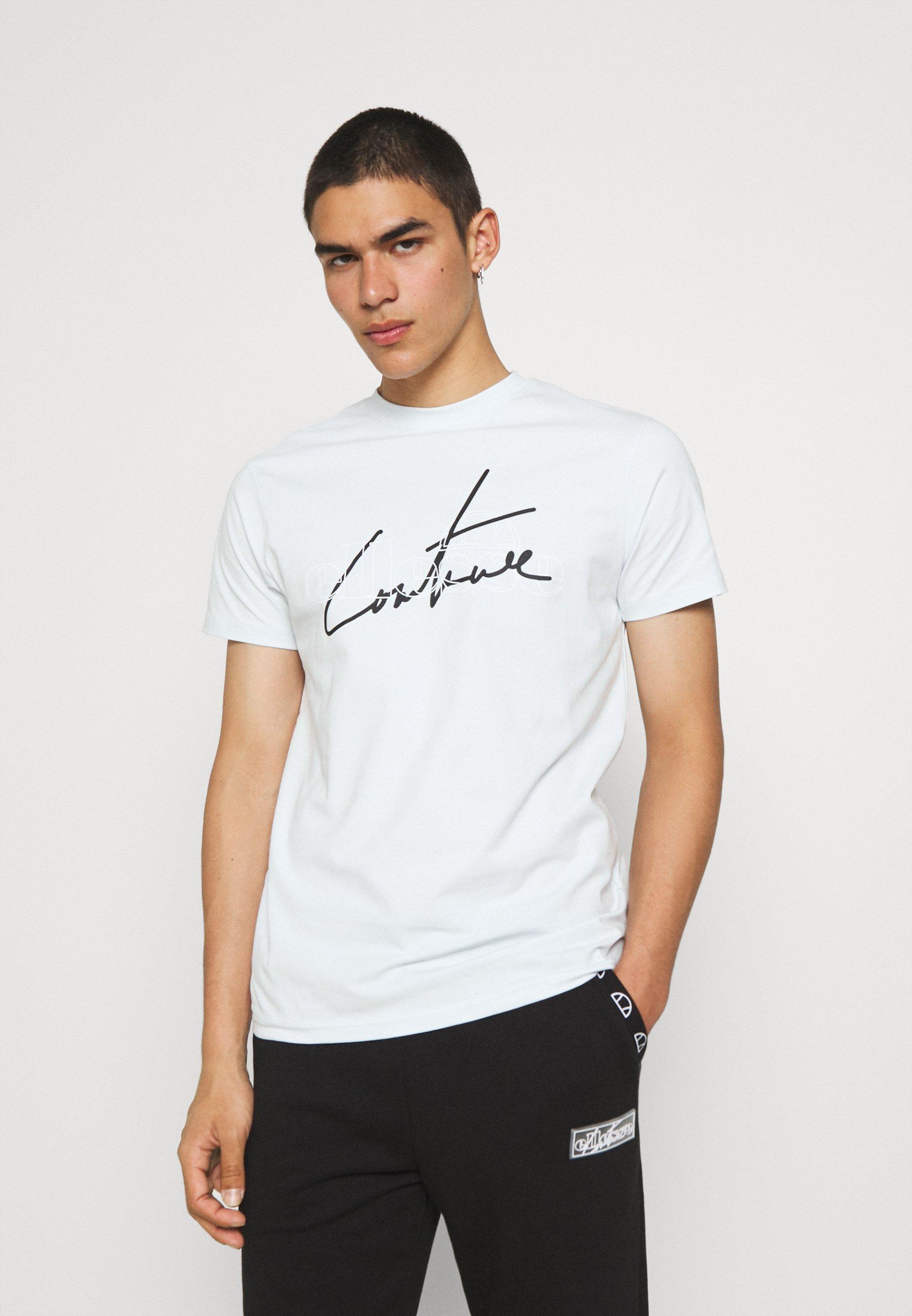 Homme TCC X ELLESSE MENS SLIM FIT FRONT AND BACK PRINT T SHIRT - T-shirt imprimé