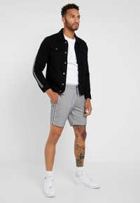 Brave Soul - POLARTAPE - Denim jacket - black - 1