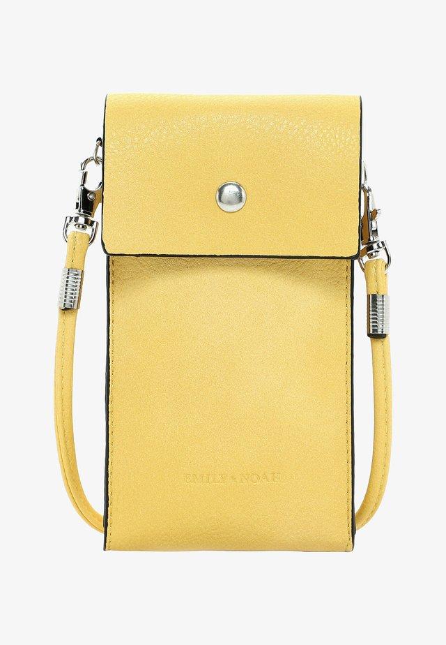 EMMA - Kännykkäpussi - light yellow
