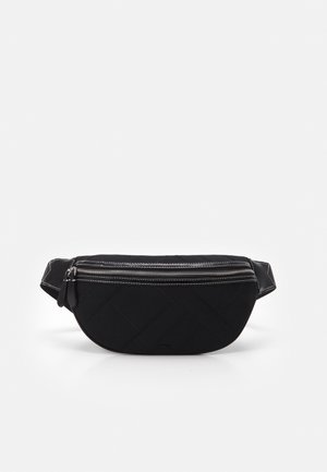 BELT BAG JOEY - Ledvinka - black