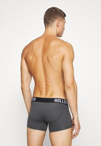 Hollister Co. - 5 PACK  - Boxer shorts - grey/dark blue/black - 2