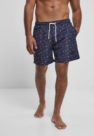 Swimming shorts - sunglasses aop