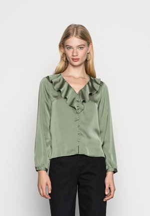 ONLSISSE  LIFE FRILL BLOUSE - Blouse - sea spray
