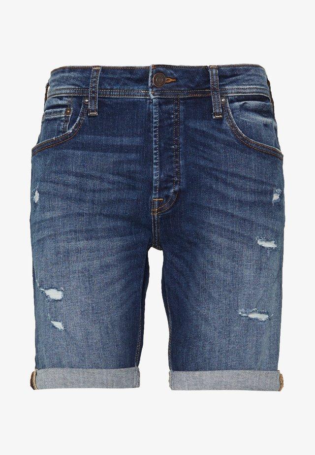 JJIRICK JJORIGINAL - Jeans Shorts - blue denim
