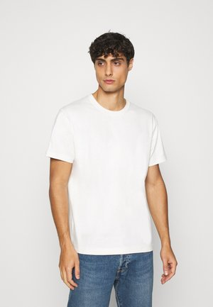 T-SHIRT - T-shirt - bas - white dusty light