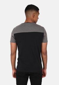 le coq sportif - TECH TEE N1 - T-SHIRT - Print T-shirt - black - 2