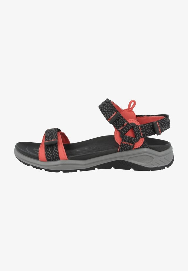 Outdoorsandalen - hibiscus-black