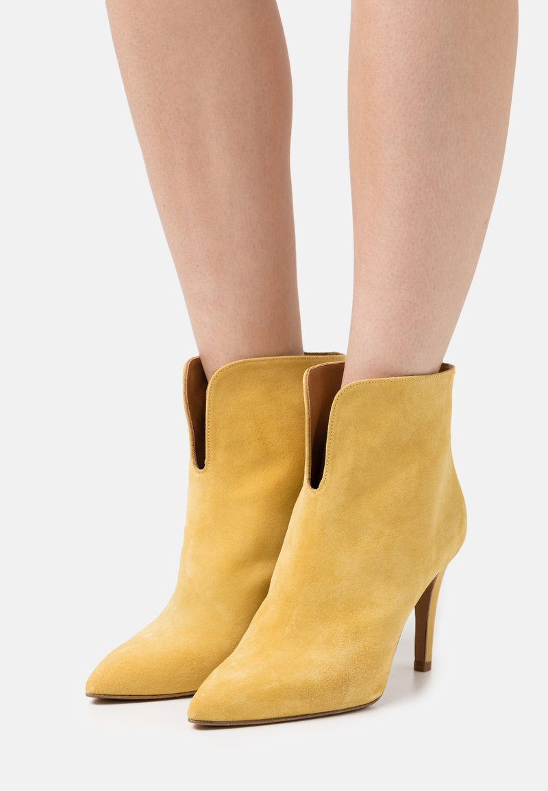Toral - High heeled ankle boots - anteado/river yema
