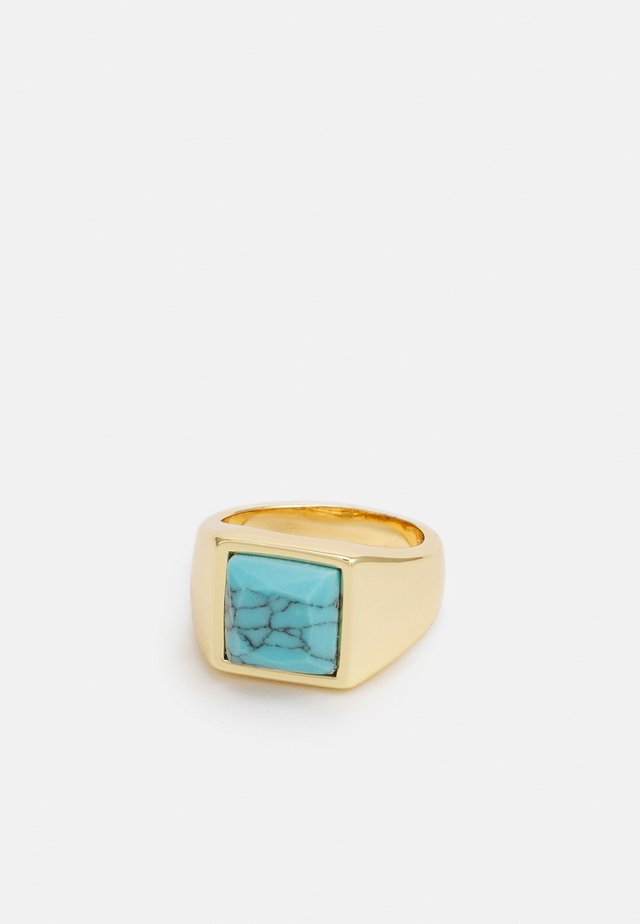 SQUARE COCKTAIL - Ring - gold-coloured