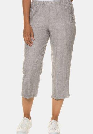 Trousers - grau-melange