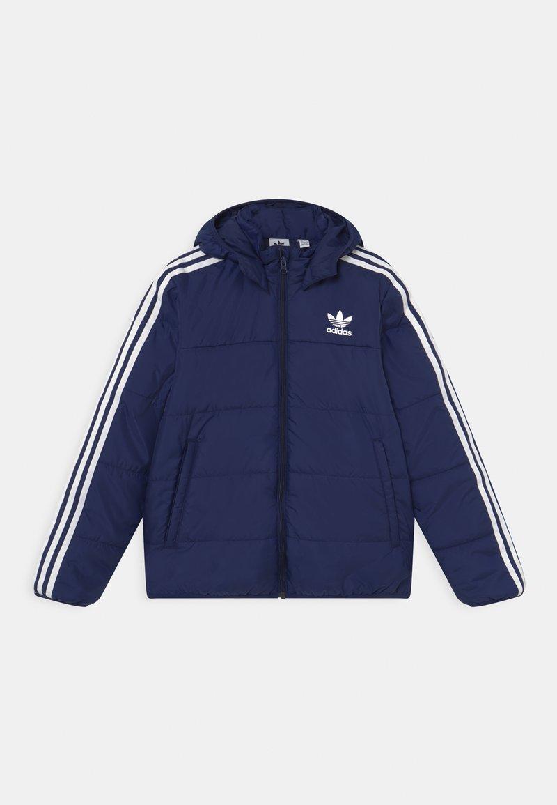 adidas Originals - PADDED UNISEX - Winter jacket - night sky/white