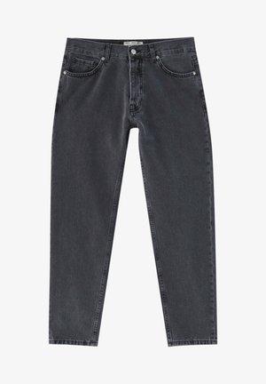 Straight leg jeans - mottled light grey