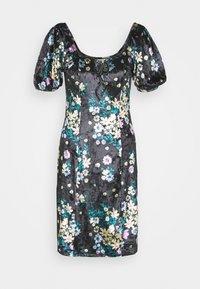 Glamorous Tall - LADIES DRESS FLORAL - Korte jurk - black - 0